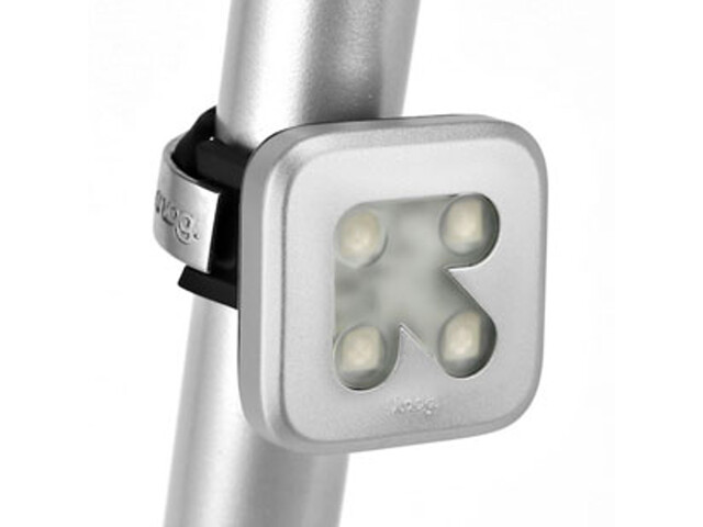 Knog Blinder 4 Arrow baklampa silver